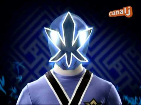 power rangers samurai bleu