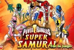 power rangers samurai en jeux