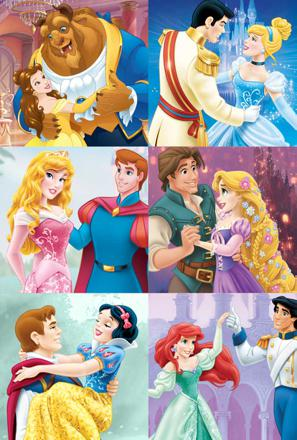 princesse disney et leur prince