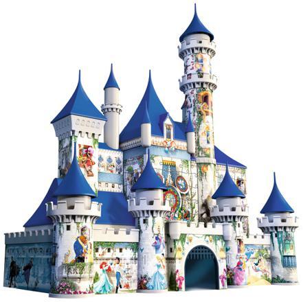 puzzle 3d chateau disney