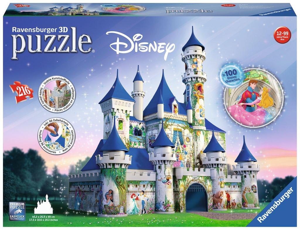 puzzle 3d disney