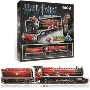 puzzle 3d harry potter train