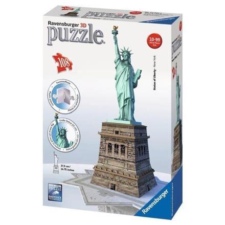puzzle 3d statue de la liberté