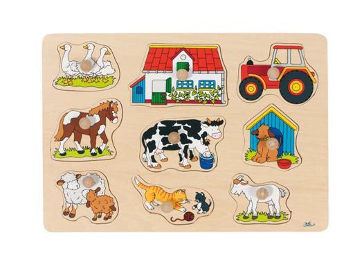 puzzle bebe bois