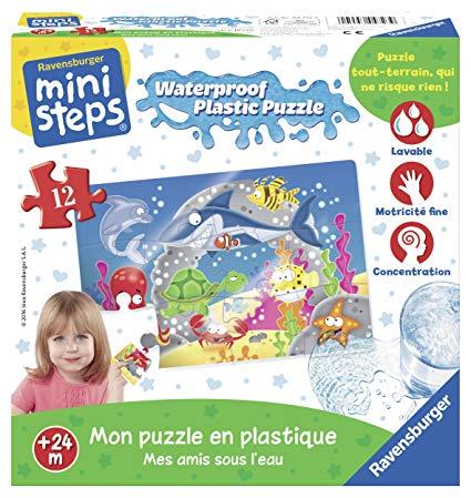 puzzle en plastique