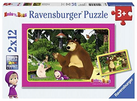 puzzle masha et michka