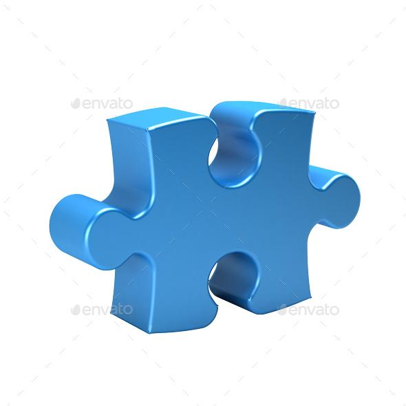 puzzle piece 3d