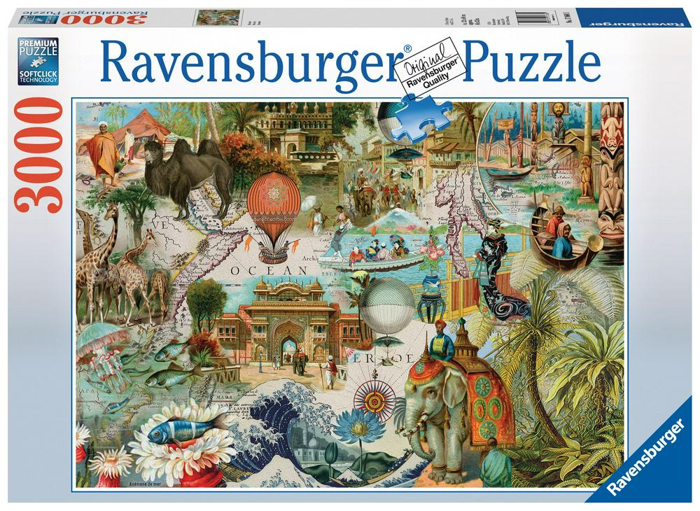 puzzle ravensburger 3000 pieces