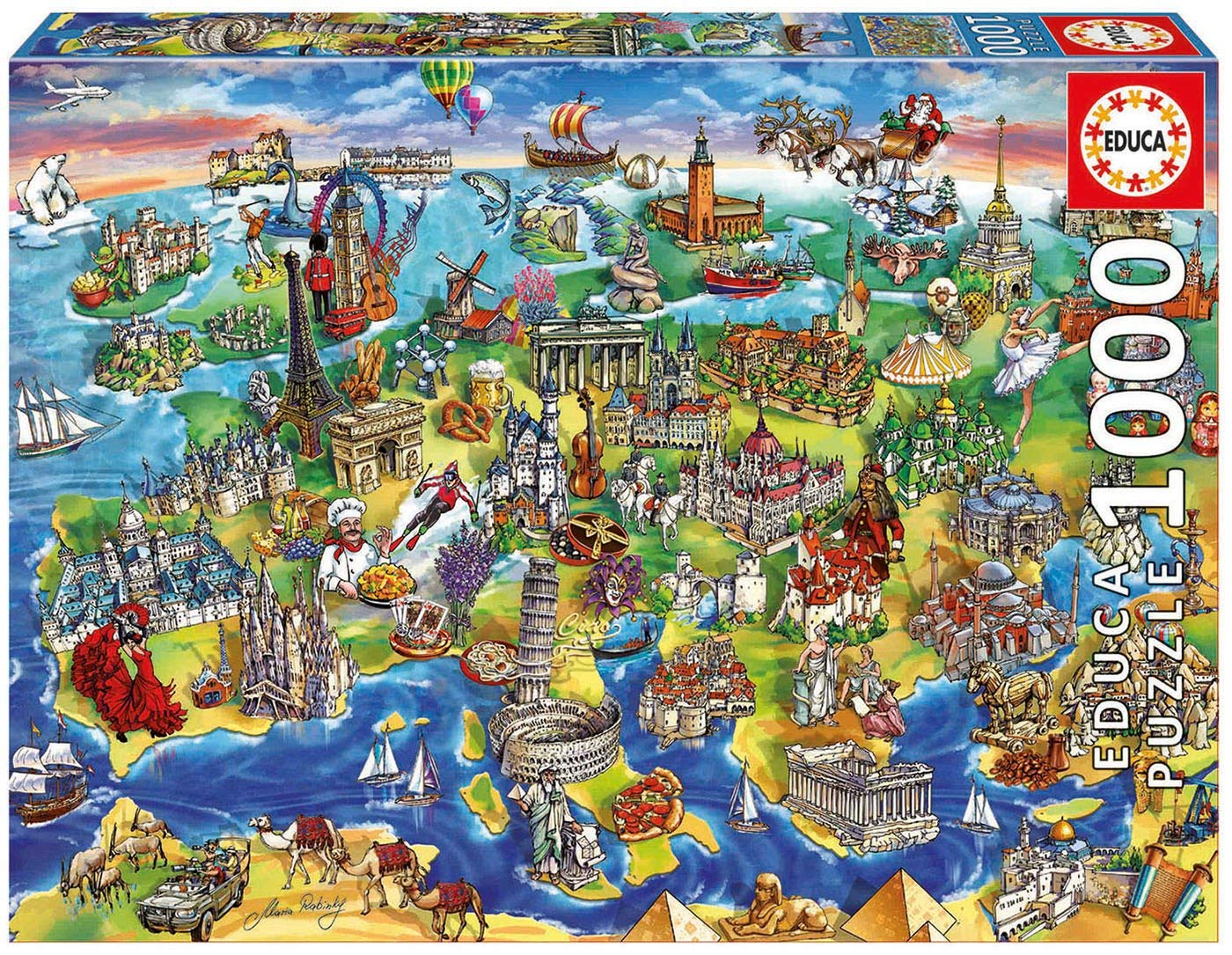 puzzles educa