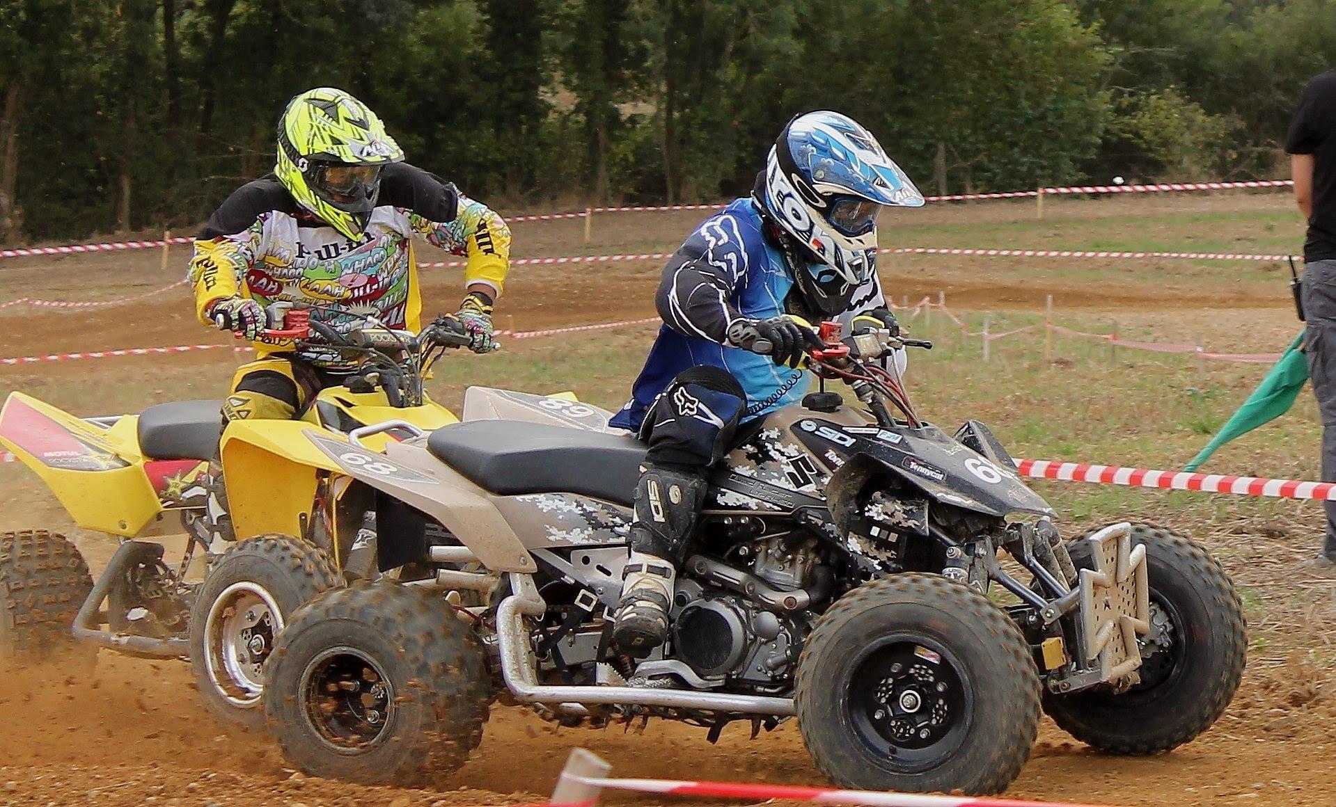 quad de course