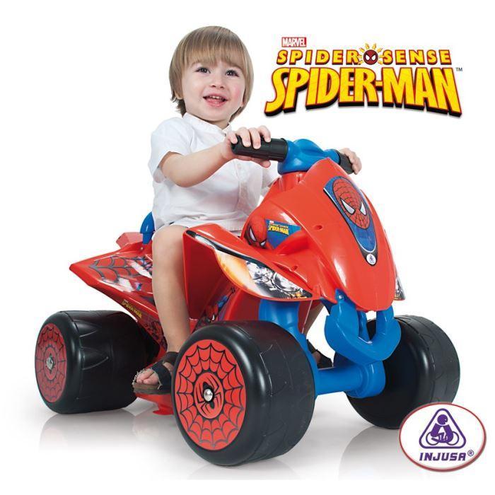 quad electrique spiderman