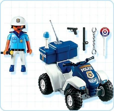 quad playmobil police