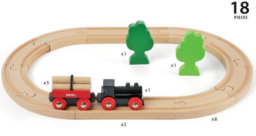 rail train bois