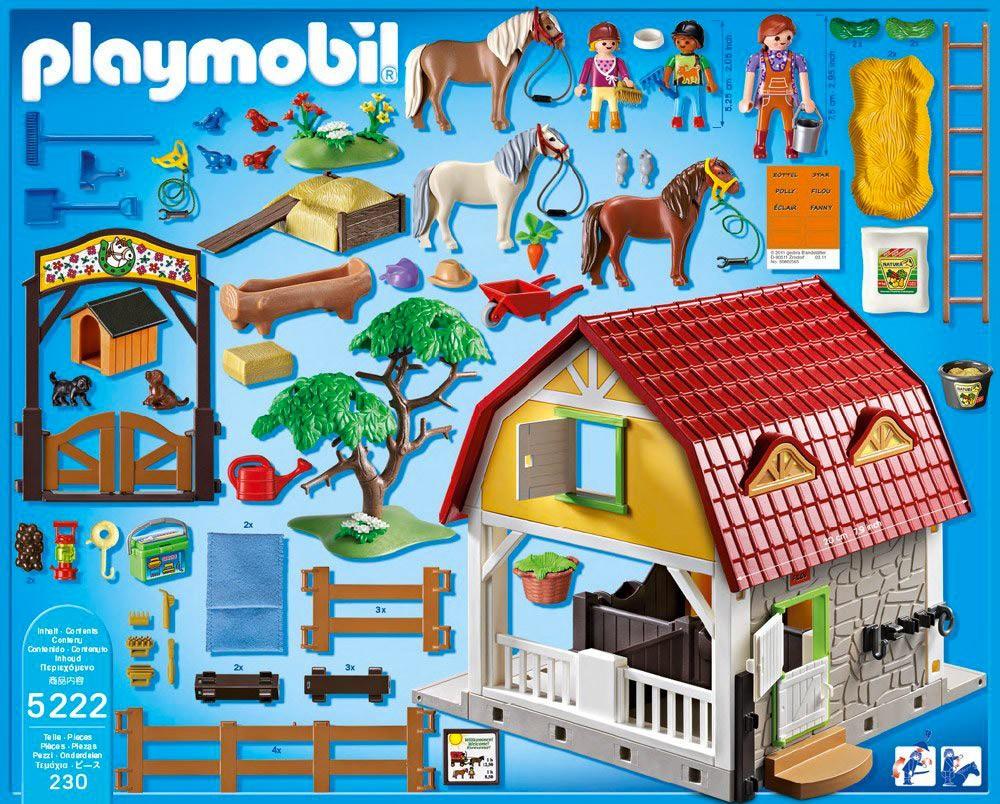 ranch poney playmobil