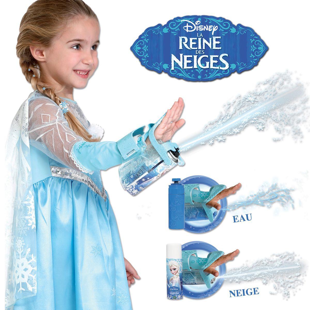 reine des neiges gant lance neige