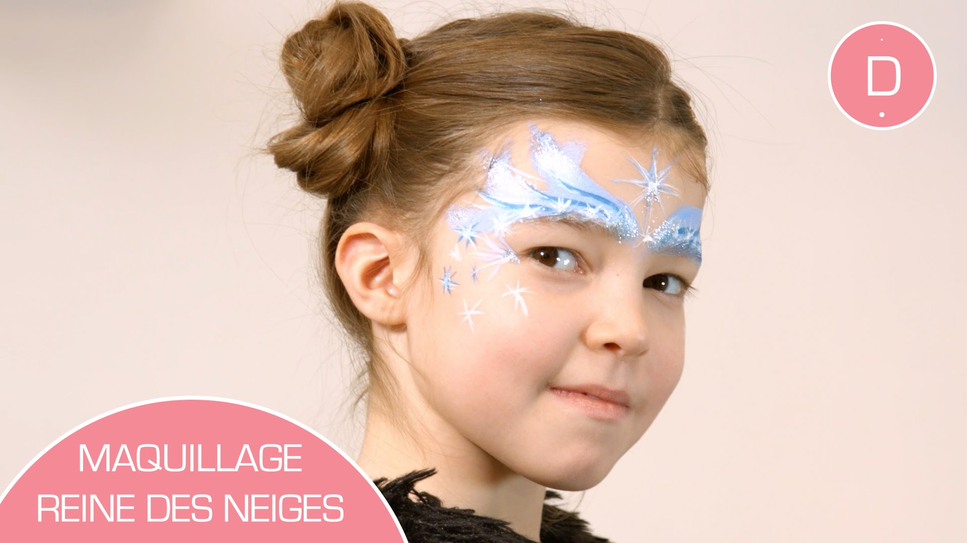 reine des neiges maquillage
