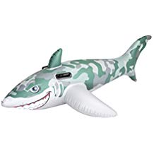 requin gonflable pour piscine