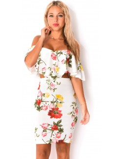 robe a fleur