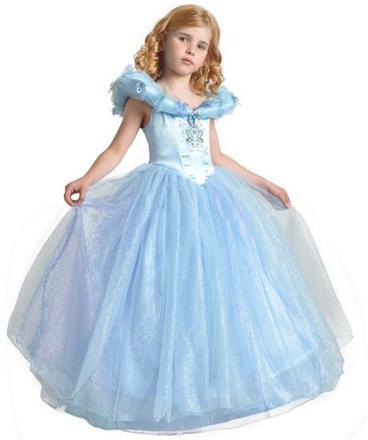 robe de cendrillon pour petite fille