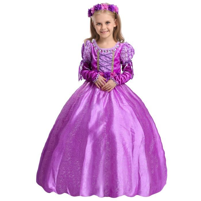 robe de princesse raiponce
