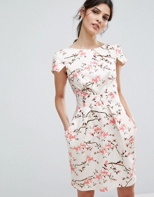 robe en fleur