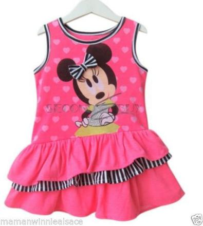 robe minnie 2 ans