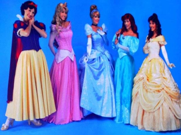 robe princesse disney