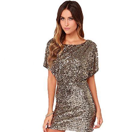 robes à paillettes