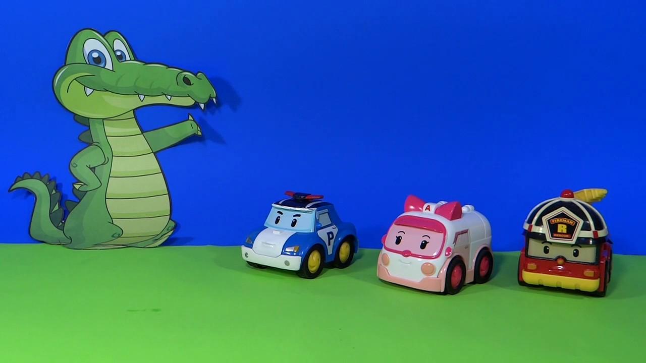 robot car polly en francais