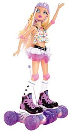 roller barbie