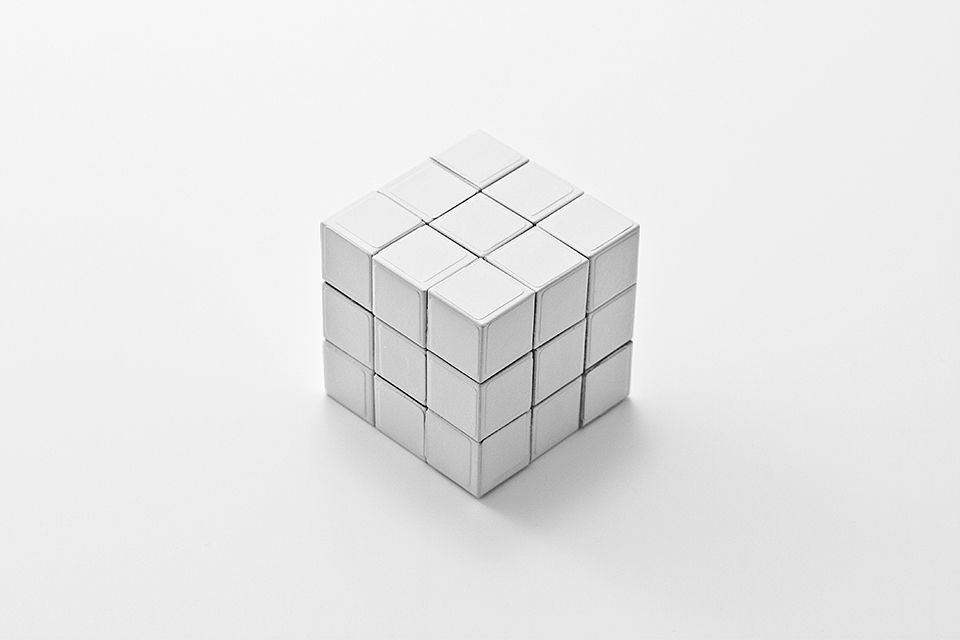 rubik's cube blanc