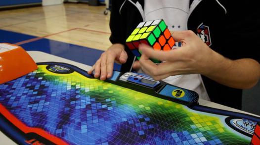 rubik's cube compétition
