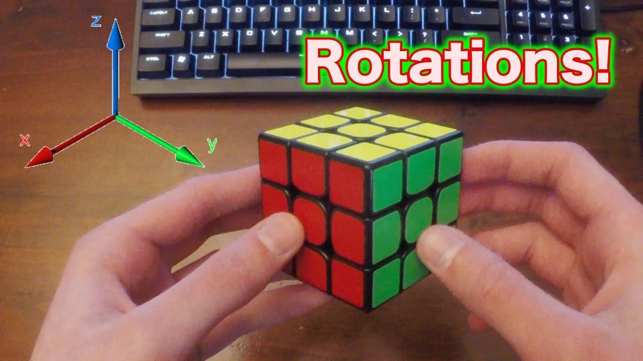 rubik's cube rotations