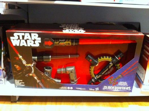 sabre laser star wars rouge