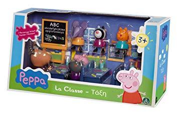 salle de classe peppa pig