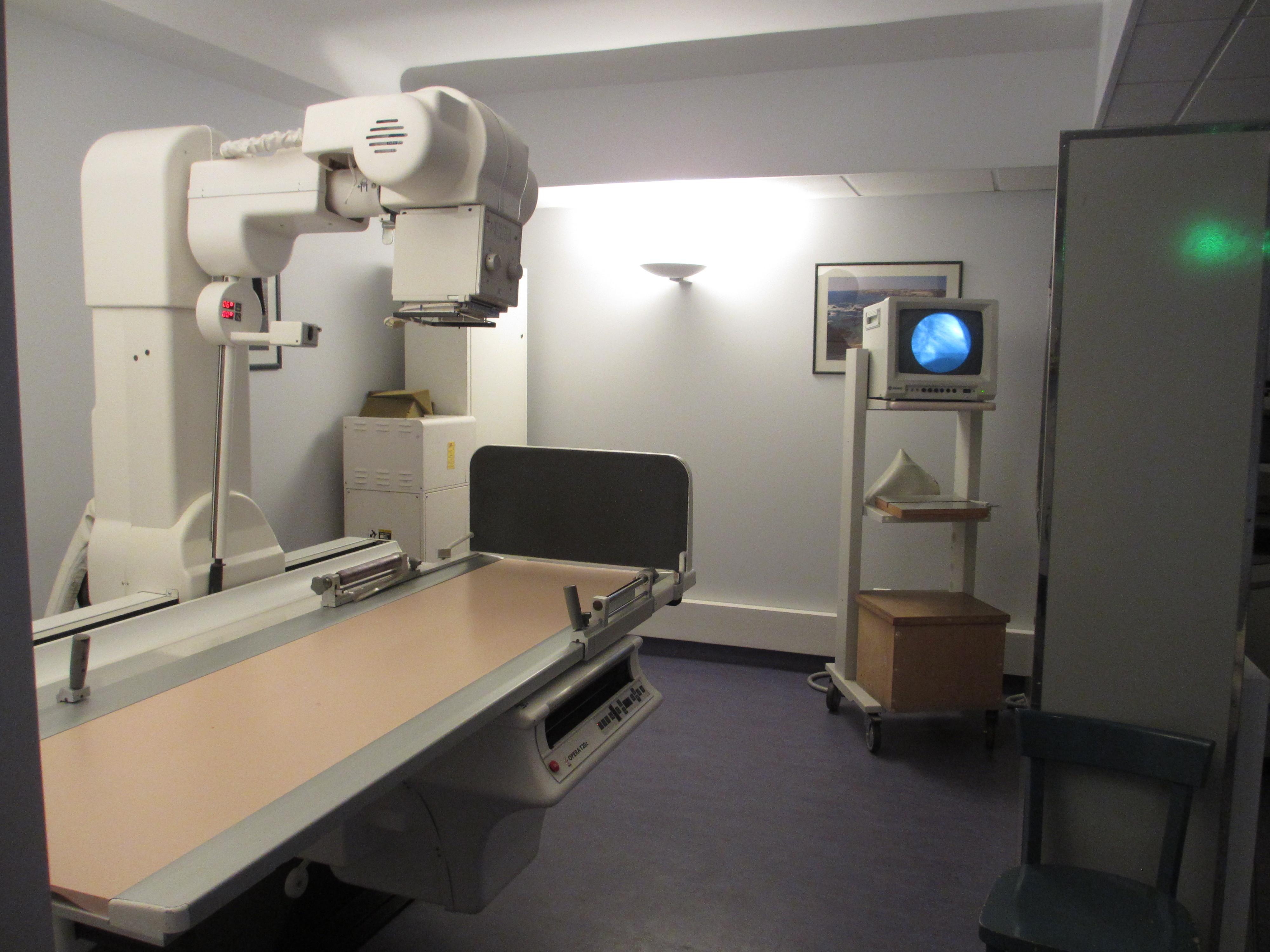salle de radiologie