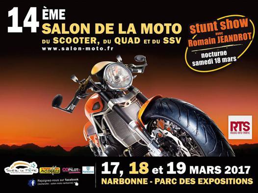 salon moto narbonne 2017
