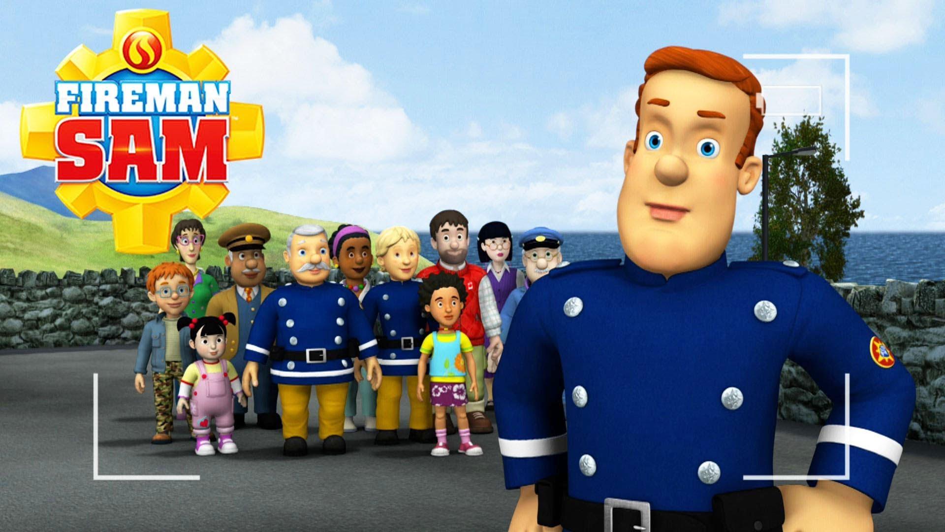 sam et les pompiers