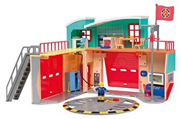sam le pompier caserne
