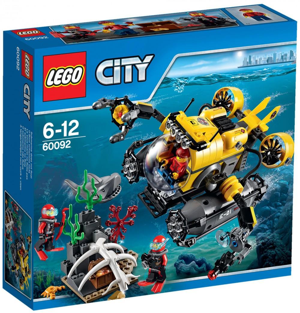 sous marin lego
