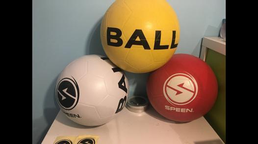 speen ball blanche