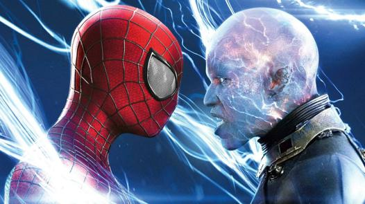 spiderman and electro