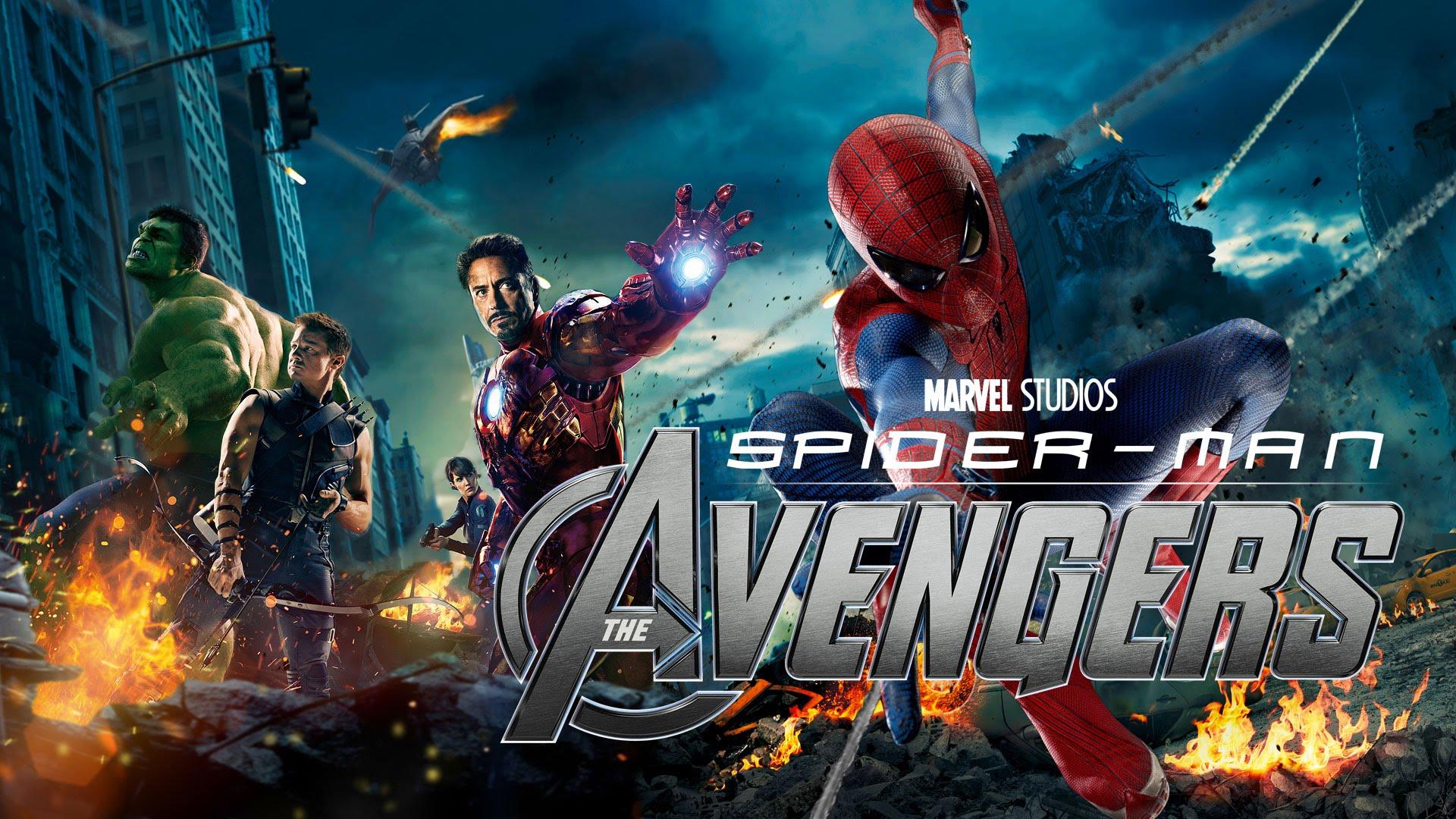 spiderman et les avengers