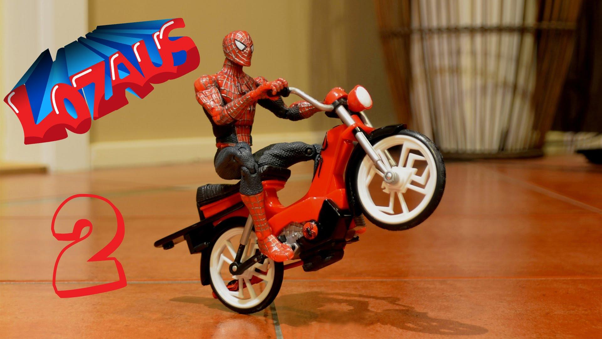 spiderman moto video