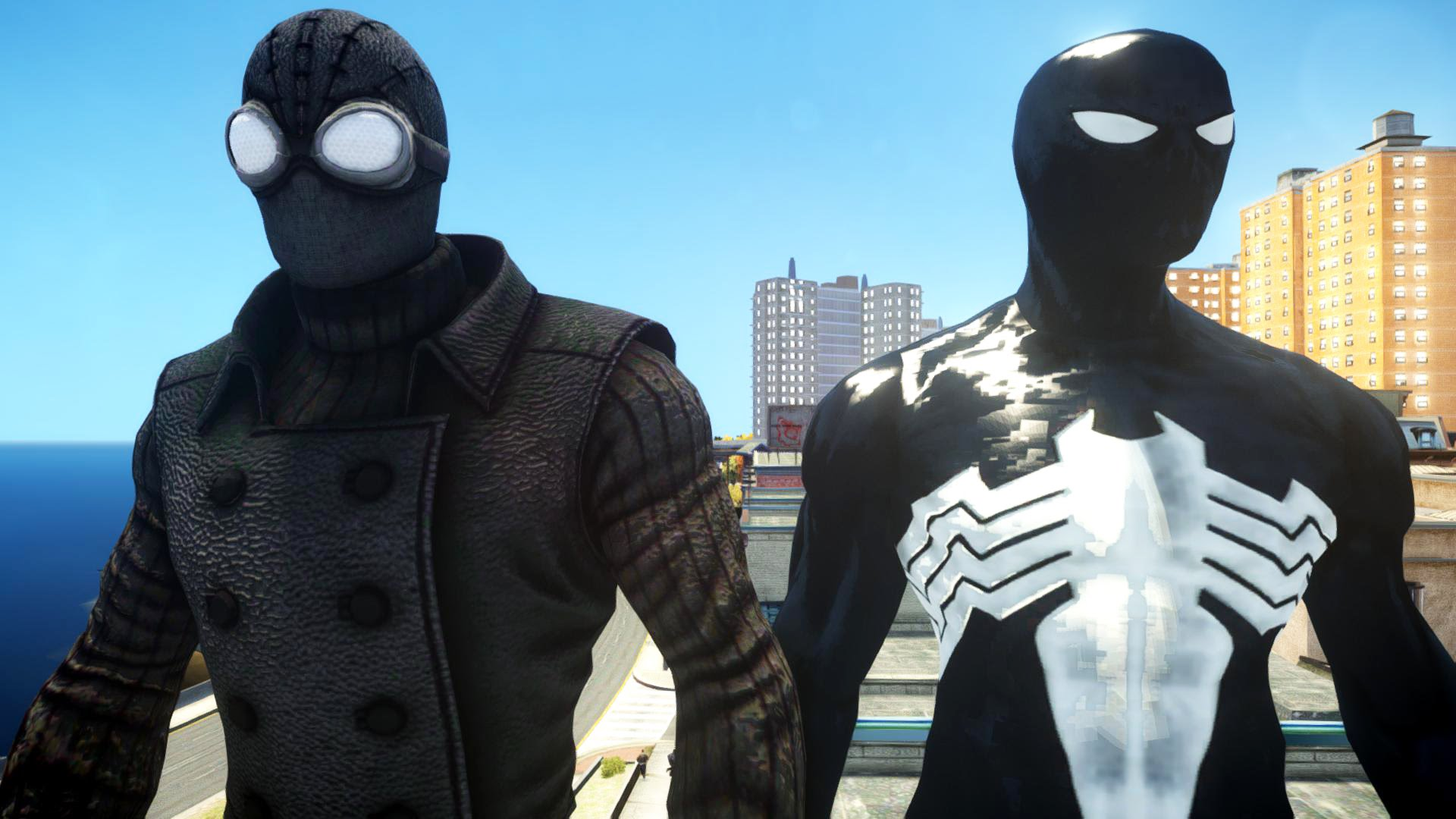 spiderman noire