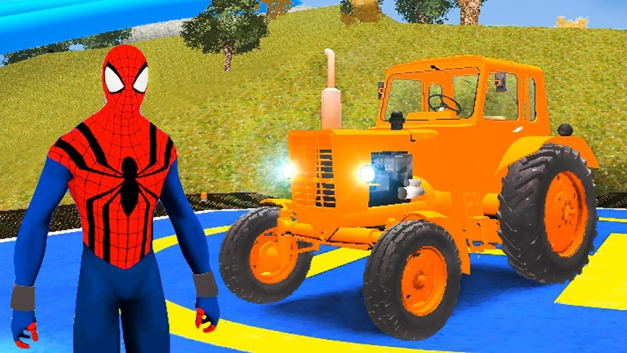 spiderman tracteur