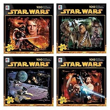 star wars 100 piece puzzle