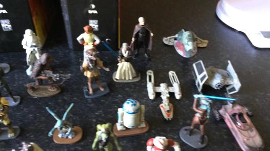 star wars figurine collection