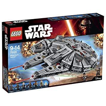 star wars lego faucon millenium