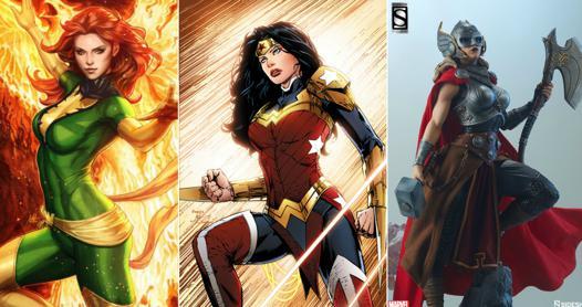 super heroines